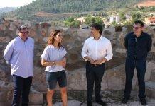 Visita a Cofrentes del Secretario Autonómico de Turismo