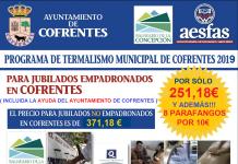 Programa Municipal de Turismo de Salud de Cofrentes 2019