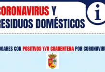 Recomendaciones sobre Residuos en Hogares con positivos o en aislamiento por COVID-19