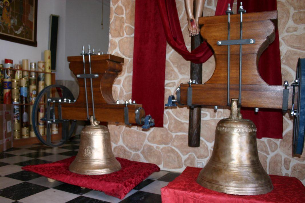 Las campanas de la iglesia parroquial ya están restauradas